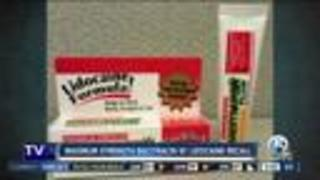 Maximum Strength Bacitraycin Plus Ointment with lidocaine recalled - Video