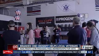Branded One CrossFit helps local veterans - Video