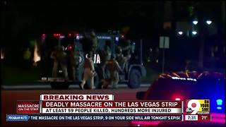 Deadly massacre on the Las Vegas Strip