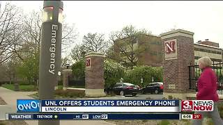 UNL to lend emergency cell phones - Video