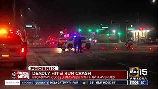 Police suspect hit-and-run after man found dead in roadway - Video