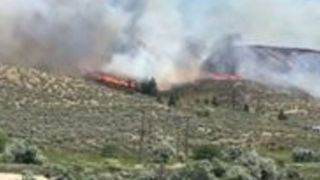 Flames From Kamloops Fire in British Columbia Spotted Spreading Across Hills