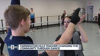 D2020 Person of the Week: Ballet teacher inspires students through therapeutic dance - Video