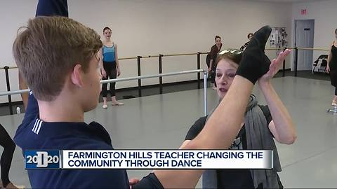 D2020 Person of the Week: Ballet teacher inspires students through therapeutic dance