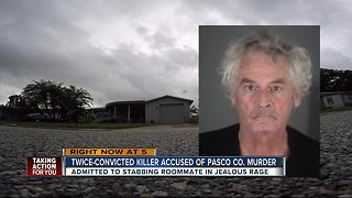 Convicted 71-year-old killer confesses to killing third victim Wednesday in Holiday - Video