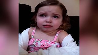 Little Girl Realizes Being A Parent Is Hard - Video