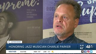Honoring jazz musician Charlie Parker