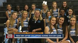 Polk County 15-year-old dies after collapsing during soccer game - Video