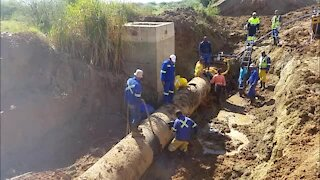 WATCH: #WaterUpdate Day2: One major repair completed already (VjF)