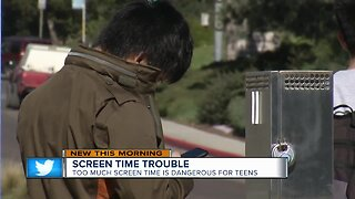 Too much screen time proves troubling for teens