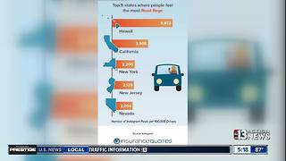 Nevada makes top 5 list of states with angriest drivers