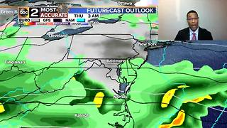 7 DAY FORECAST: Sunshine Before the Rain - Video