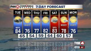 Cooler weather on the way - Video