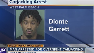 Suspect held without bond after Howard Park carjacking in West Palm Beach - Video