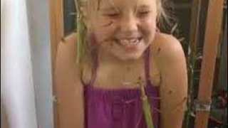 Fearless Little Girl Giggles While Covered in Stick Insects
