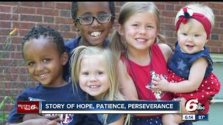 Child adopted from Ethiopia adjusts to home in Anderson - Video