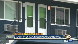 Report: Region needs 143,000 affordable homes
