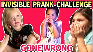 Invisible Prank Challenge Gone Wrong - Compilation