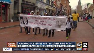Annapolis observes Martin Luther King Jr. Day - Video