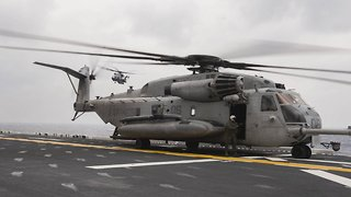 4 Presumed Dead After US Marine Helicopter Crash In California - Video