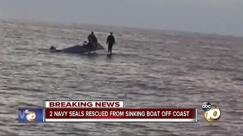 Fishing boat crew rescues 2 Navy SEALs from sinking boat