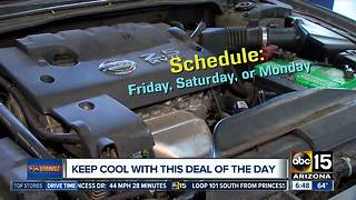 Keep your car cool with this Deal of the Day