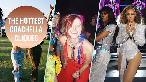 3 celebs that were ultimate #squadgoals at Coachella