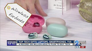 Tech tops holiday wish lists: Popular gift ideas