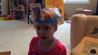 Baby Girl Really Wants To Be A Hot Dog - Video