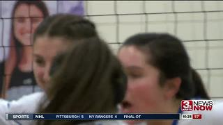 Marian vs. Bellevue West Volleyball - Video