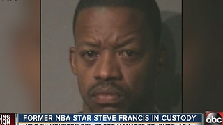 Former NBA Star Steve Francis in custody - Video