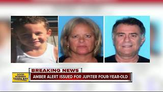 Amber Alert issued for missing 4-year-old Florida boy; nanny arrested
