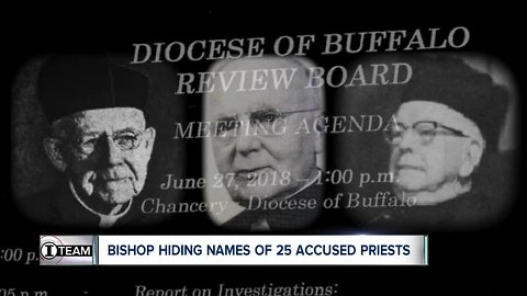Bishop Malone wants Buffalo to 'move on.' But he's hiding the names of 25 accused priests. (6:30 a.m.)