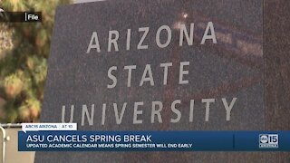 ASU shortens spring 2021 semester, cancels spring break amid rise in COVID-19 cases in Arizona