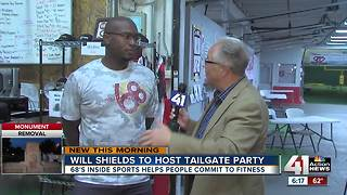 Will Shields to host public Chiefs tailgate party in Overland Park - Video