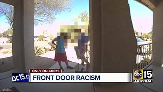 Woman horrified by north Phoenix racism caught on doorbell camera - Video
