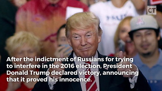 Trump Makes Massive Announcement After Mueller Indictments - Video