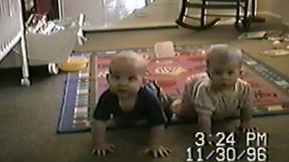 """Baby Twins Dance to Country Music"""