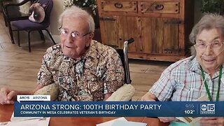 Arizona celebrates 100th birthday party