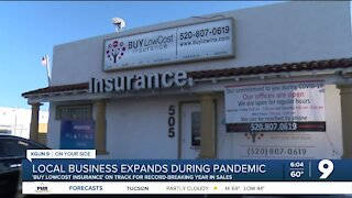 Local insurance broker to hit record sales amid pandemic