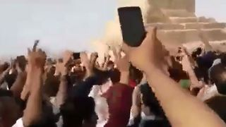 Protest gathering of thousands from across the country at Cyrus' tomb -2 - Video