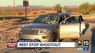 Trooper-involved shooting shuts down I-10 near Tonopah - Video