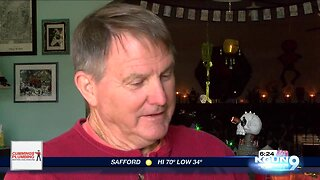Tucson family brings 'spooky town' to life inside their home