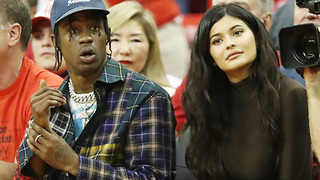 Kylie Jenner & Travis Scott Show Support For Khloe Kardashian's EX! - Video