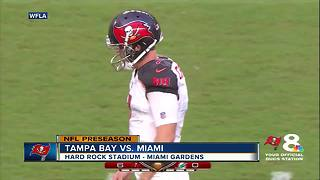 Tampa Bay Buccaneers beat Miami Dolphins 26-24 on last minute field goal