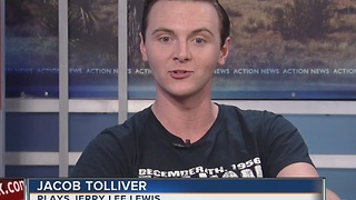 Interview with Jacob Tolliver with Million Dollar Quartet - Video