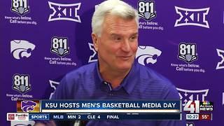 K State men's basketball hosts media day - Video