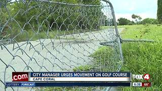 Cape Coral city manager wants something done with golf course