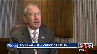 1-on-1 with Sen. Grassley