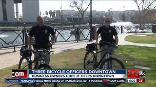 Downtown adding new officers to patrol in another way - Video